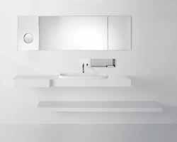 HOMEMAGAZINE.FR: Une salle de bain minimaliste imaginée par Agape