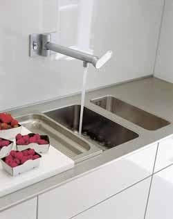 Homemagazine fr escamotez votre cuisine avec bulthaup et indesit - Robinet bulthaup ...